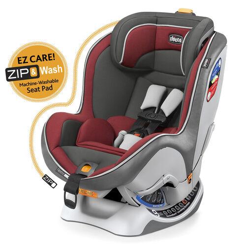 NextFit Zip Convertible Car Seat - Rubino in