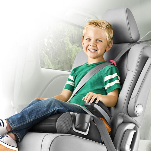Chicco GoFit Backless Booster Car Seat  Raindrop