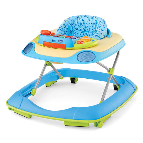 Chicco D@nce Walker - Sea Dreams fashion with blue bubble printed fabric - Chicco Sea Dreams Walker