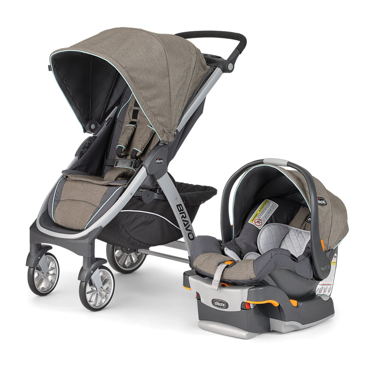 chicco bravo trio travel system naturale. Black Bedroom Furniture Sets. Home Design Ideas