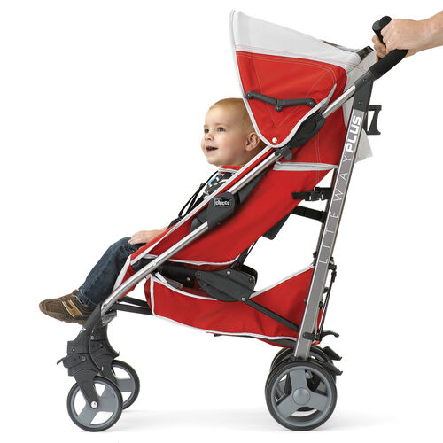 Child being pushed in the Chicco Liteway Plus Stroller