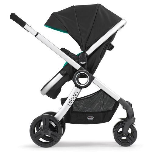 Chicco Urban 6-in-1 Modular Stroller in rear-facing toddler stroller configuration