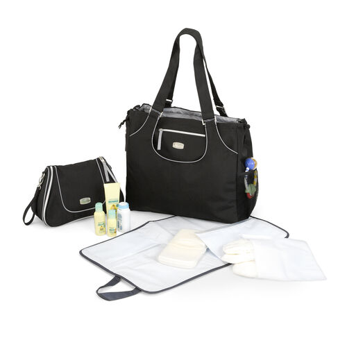chicco layla tote dash bag black. Black Bedroom Furniture Sets. Home Design Ideas