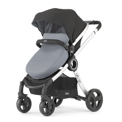 Chicco Urban 6 in 1 Modular Stroller in gray coal with boot