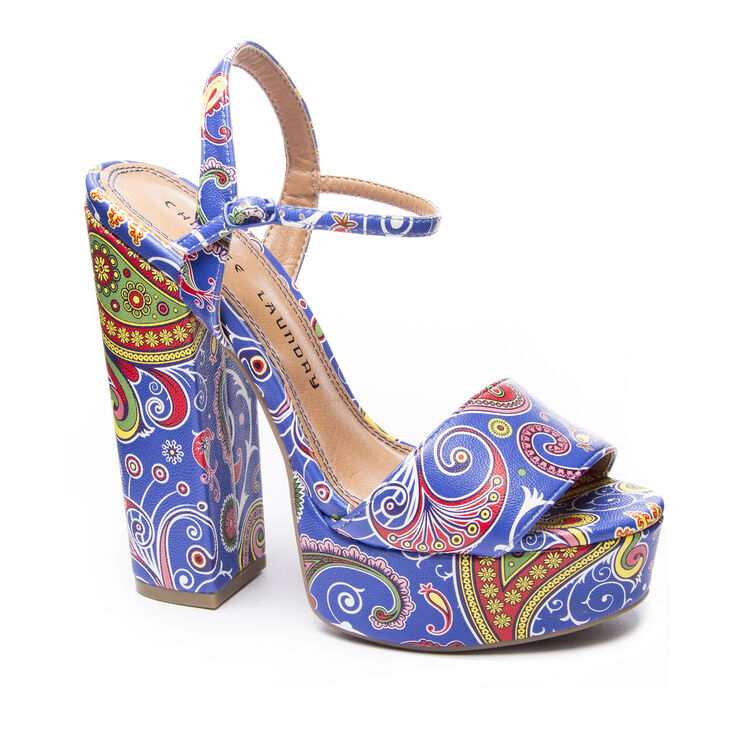 Chinese Laundry Abie Sandals in Blue Size 10.0