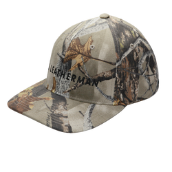 Camo Flexfit Baseball Logo Hat