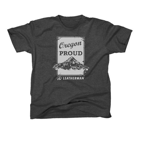 Gray Oregon Proud T-Shirt
