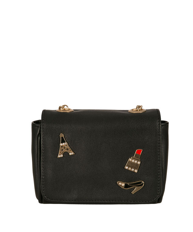Travel Crossbody Bag, Black, hi-res