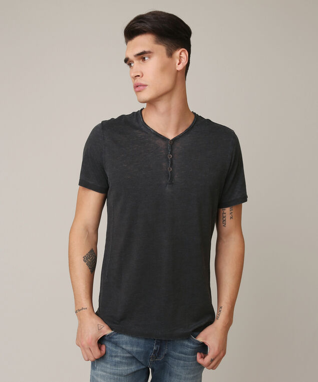 neal burnout henley, BLACK, hi-res