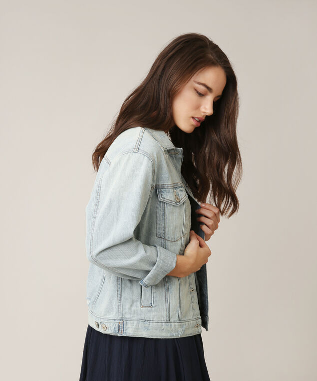 oversized denim jacket, LSW, hi-res