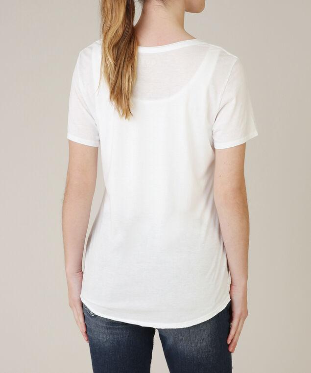 short sleeve easy tee, TRUE WHITE, hi-res