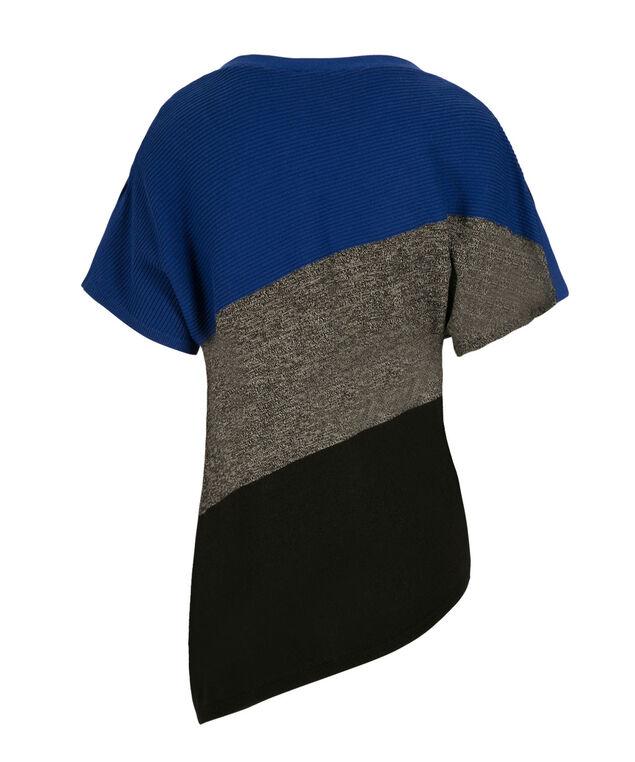 Asymmetrical Pullover, Ultra Blue Mix, hi-res