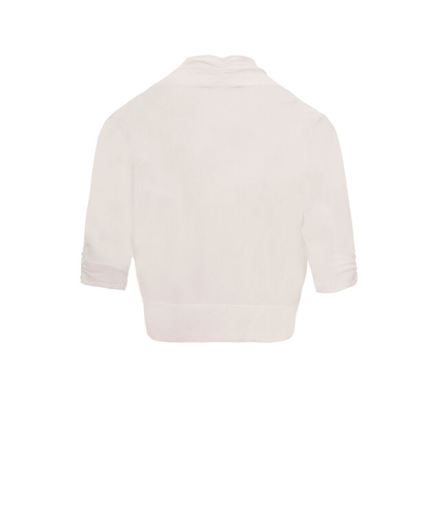 Classic Bolero Cover-Up, True White, hi-res