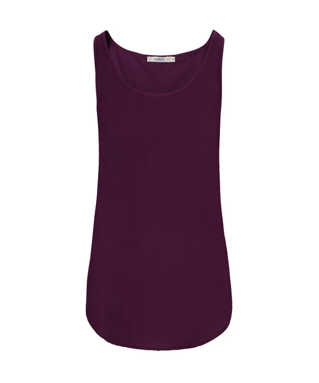 Woven Layering Cami, Ultra Purple, hi-res