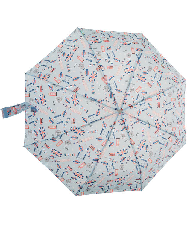 London Umbrella, Blue/Red, hi-res