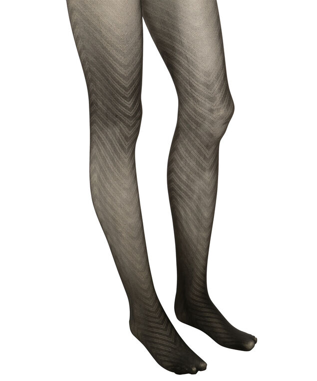 Chevron Tights, Black, hi-res