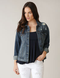 oversized denim jacket dsw