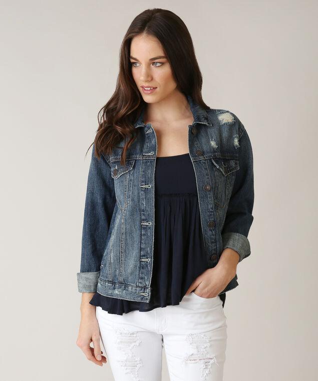 oversized denim jacket dsw, DSW, hi-res