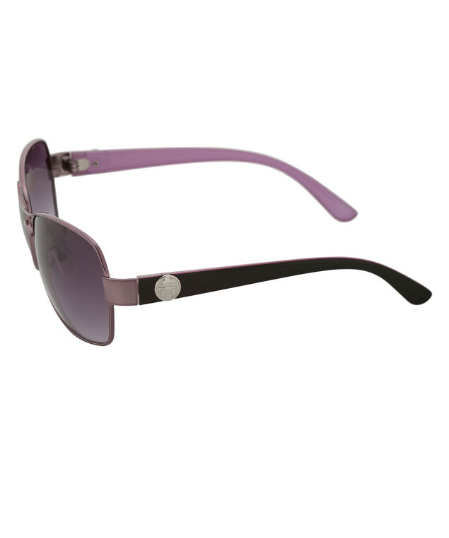 Purple Frame Sunglasses, Purple, hi-res