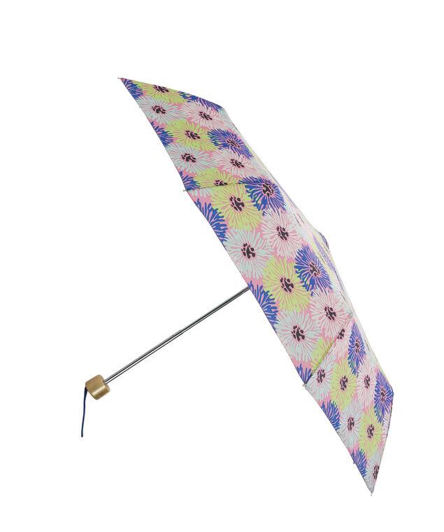Floral Umbrella, Blue/Pink, hi-res