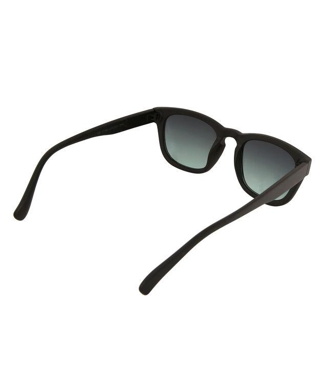 black matte wayfarer sunglasses, BLACK/BLACK, hi-res