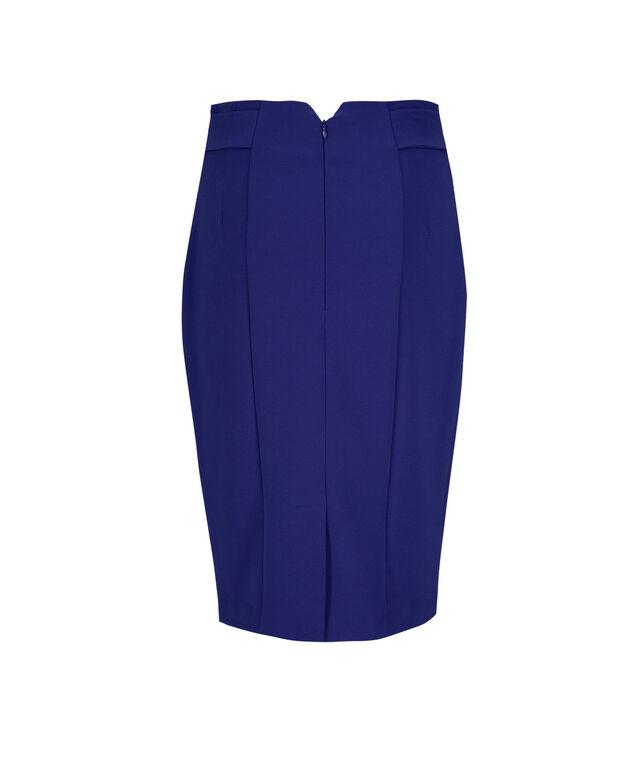 High Waist Pencil Skirt, Ultra Blue, hi-res