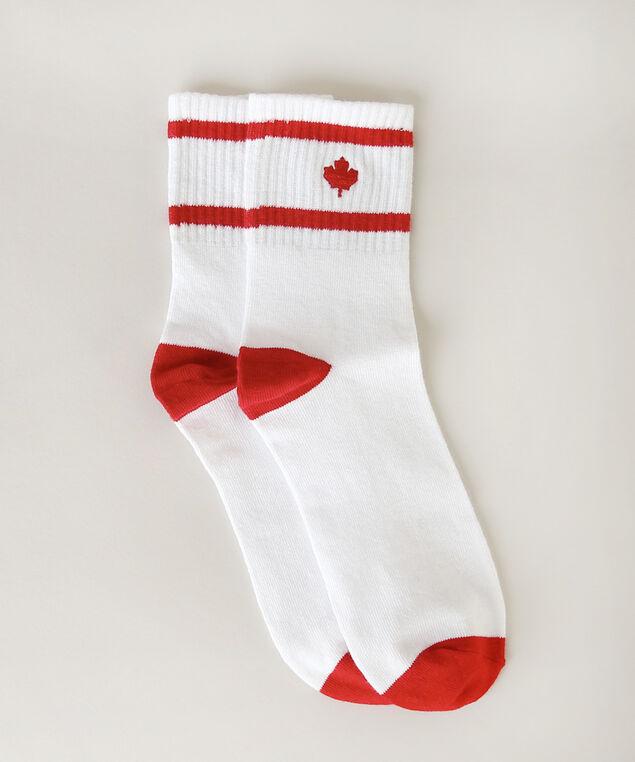 maple leaf socks, MAPLE LEAF, hi-res