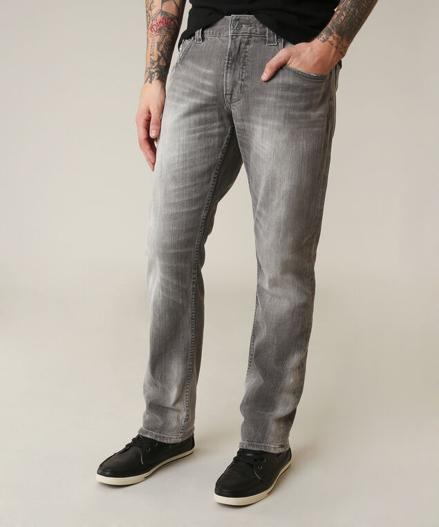 slim straight grey, , hi-res
