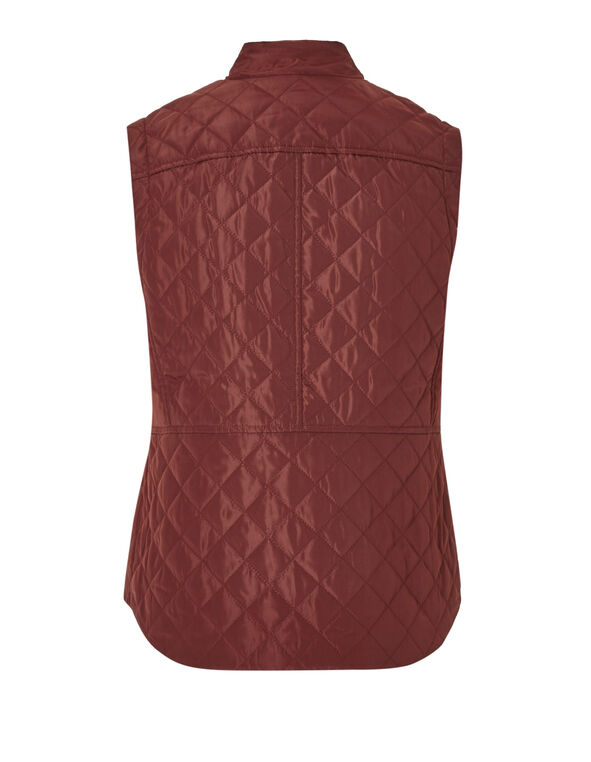 Chili Polyfill Vest, Chili, hi-res