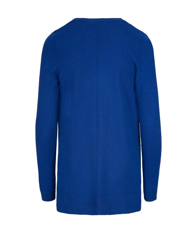 Fine Gauge Open Cardi, Ultra Blue, hi-res
