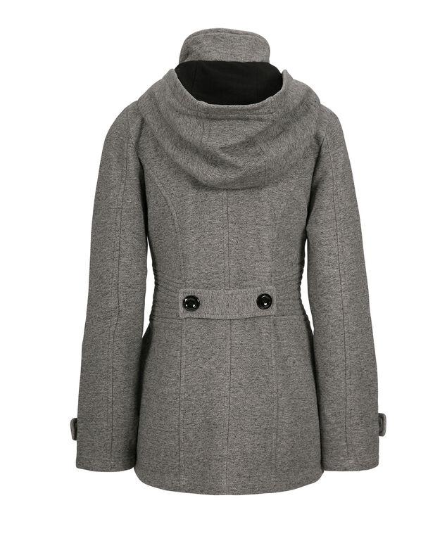 Knit Toggle Jacket, Grey, hi-res