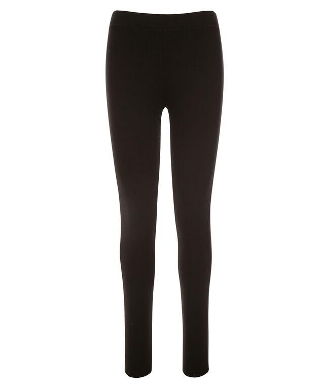 Plush Knit Legging, Black, hi-res
