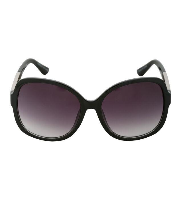 Stud Temple Sunglasses, Black/Gold, hi-res