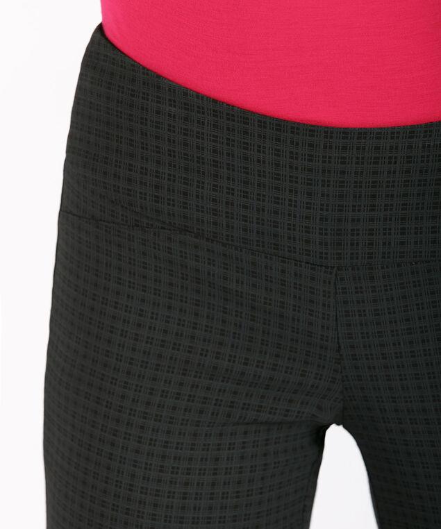 Microtwill Instant Smooth Straight Leg, Black/Grey Plaid, hi-res