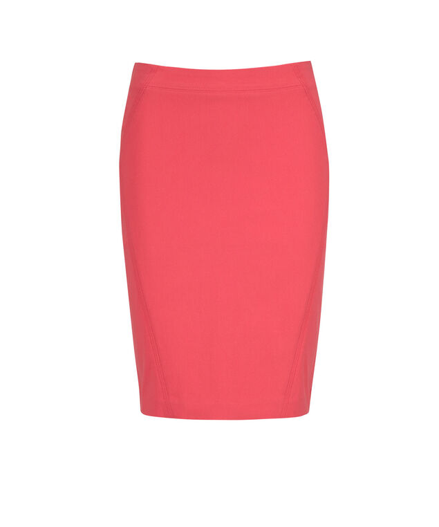 Pull On Pencil Skirt, Strawberry Daiquiri, hi-res