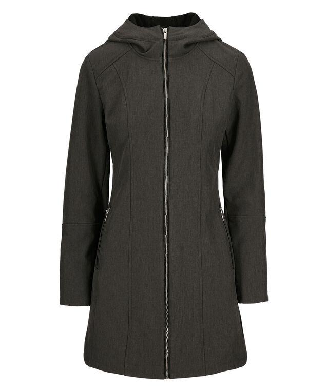 Softshell Zipper Jacket, Grey, hi-res