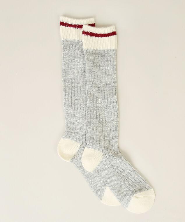knee high cabin socks, LIGHT GREY, hi-res