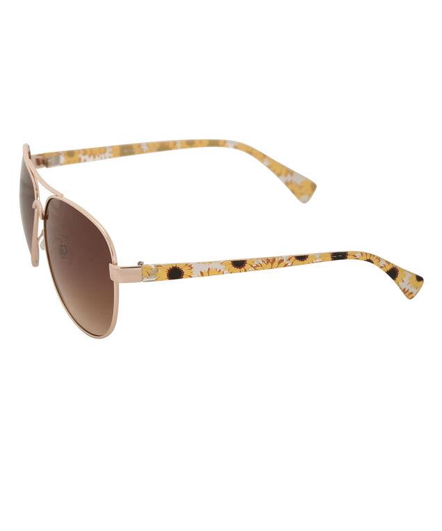 Daisy Design Sunglasses, Yellow/Gold, hi-res