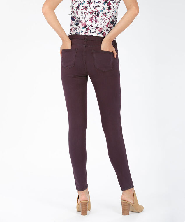 Ultimate Fly Front Jegging, Dark Plum, hi-res