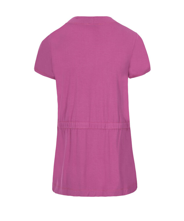 Short Sleeve Cover-Up, Mid Violet, hi-res
