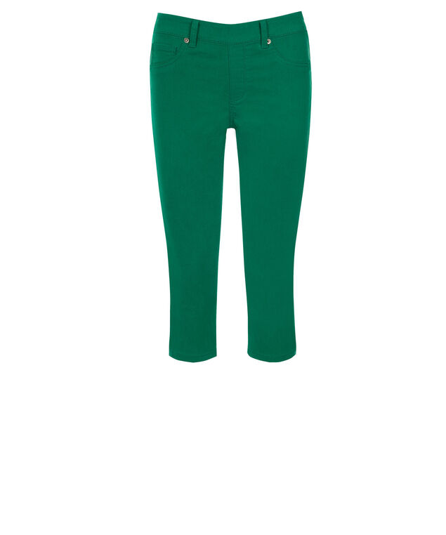 Ultimate Ultra Soft Capri Jegging, Sea Green, hi-res
