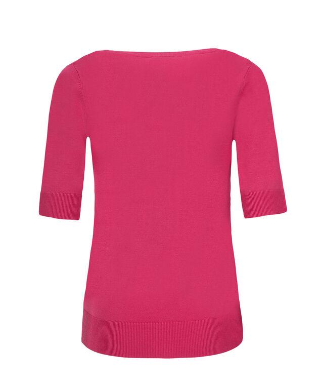 Elbow Sleeve Cardi, Vibrant Pink, hi-res