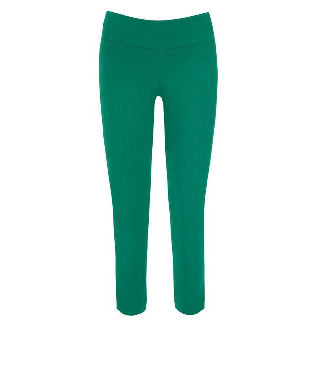 Microtwill Crop Super Slim Leg, Sea Green, hi-res