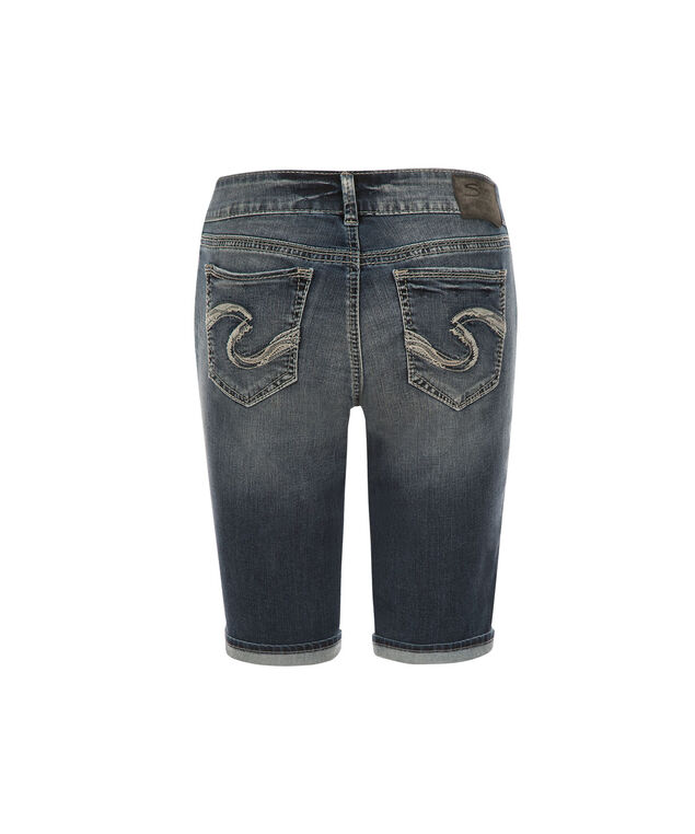 Silver Jeans Co. Suki Bermuda Short, Denim, hi-res
