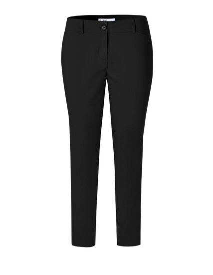 Black Curvy Fit Ankle Pant, Black, hi-res