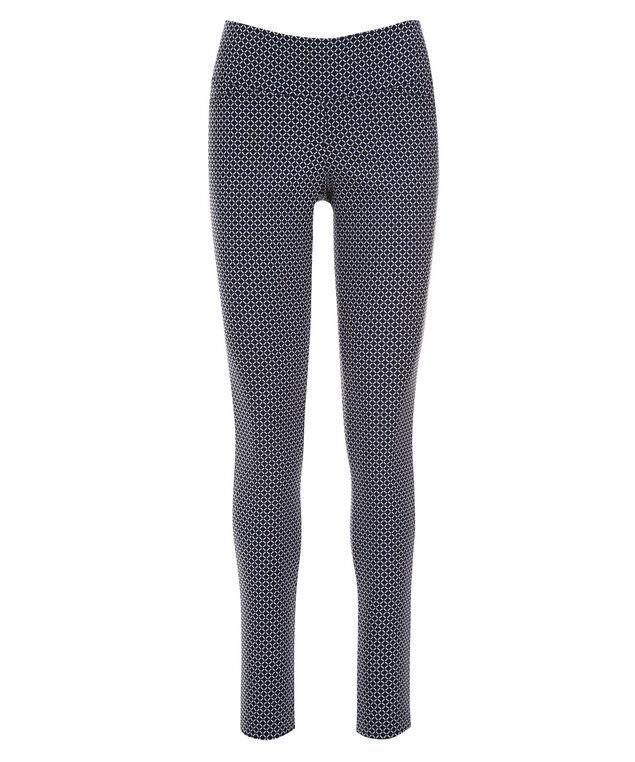 Microtwill Super Slim Leg, Black/Blue Print, hi-res