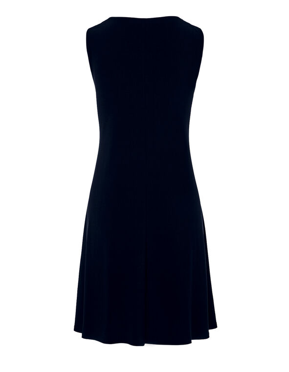 Navy Three Ring Dress, Navy, hi-res
