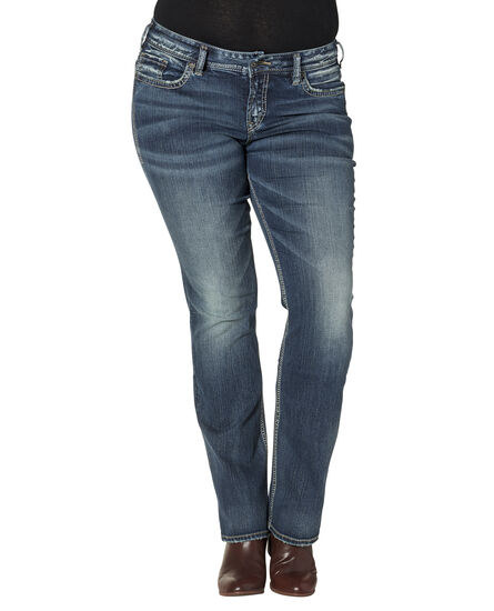 While their women's jeans are available in waist sizes , Silver's Plus Size Jeans are marked by true women's sizes Silver Jeans Co recently released a line of apparel for kids. Their girl's Silver Jeans and boy's Silver Jeans bear the trademark