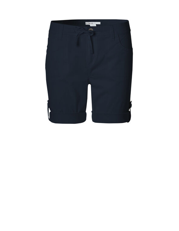 Navy Roll-Up Short, Navy, hi-res