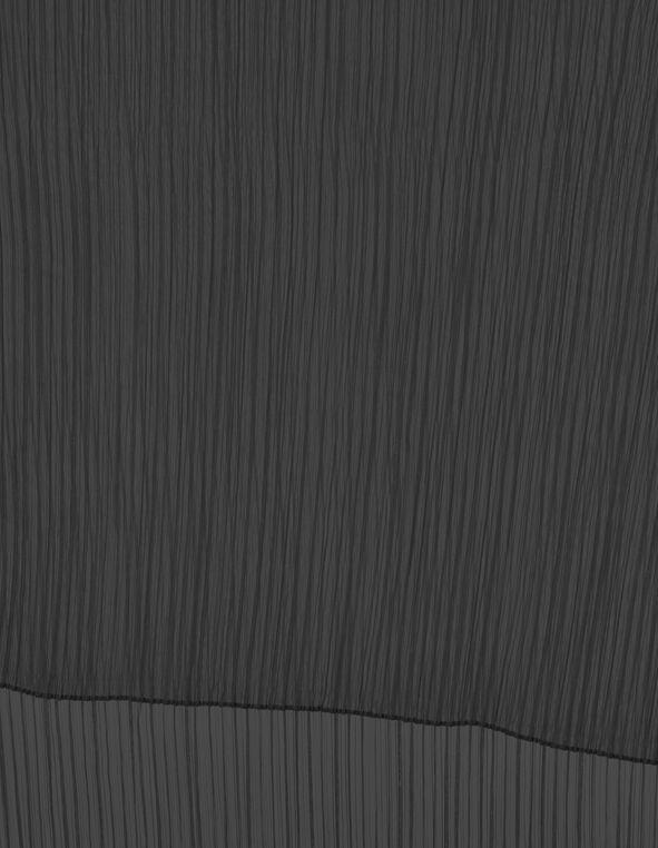 Black Pleated Dress Shawl, Black, hi-res